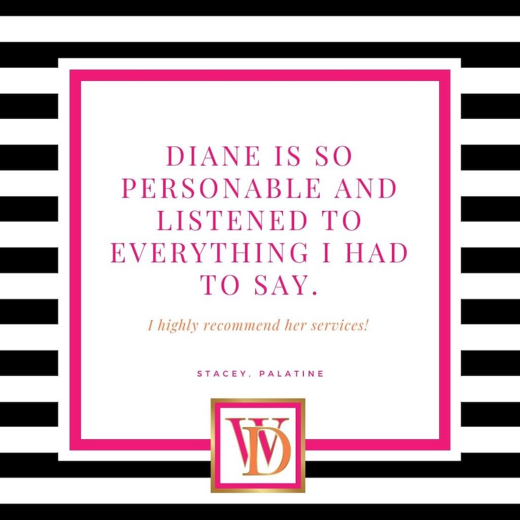 Stacey of Palatine - Testimonial for Window Designs by Diane Near Lake Zurich, Illinois (IL)